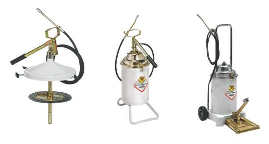 Pompe portabile pentru unsoare