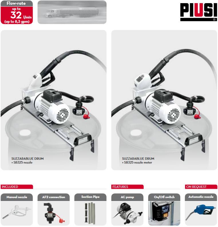 Kit-uri cu pompe electrice  de AdBlue pentru butoi