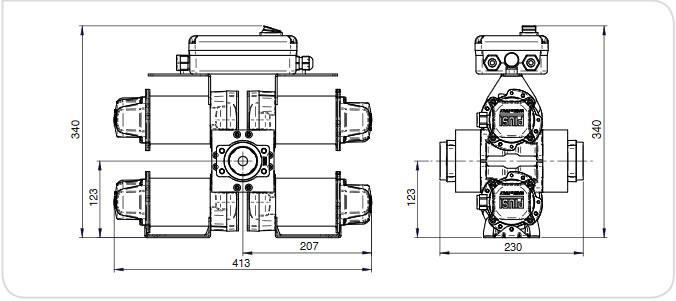 Pompa motorina de debit Piusi ST 200