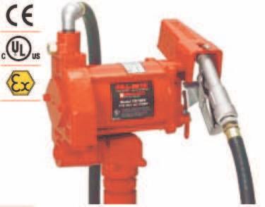 Pompe ATEX benzina model FR318VE/230V