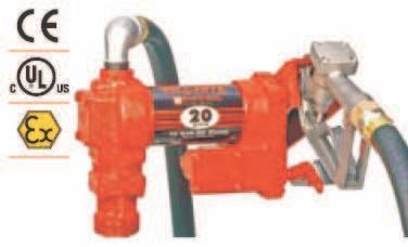Pompe ATEX benzina model FR4405CE/24V